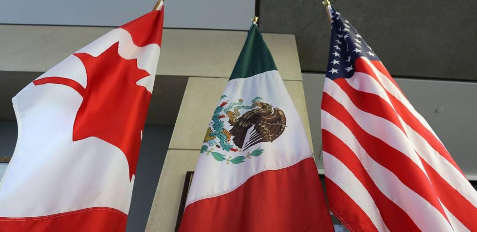 banderas mexico canada usa